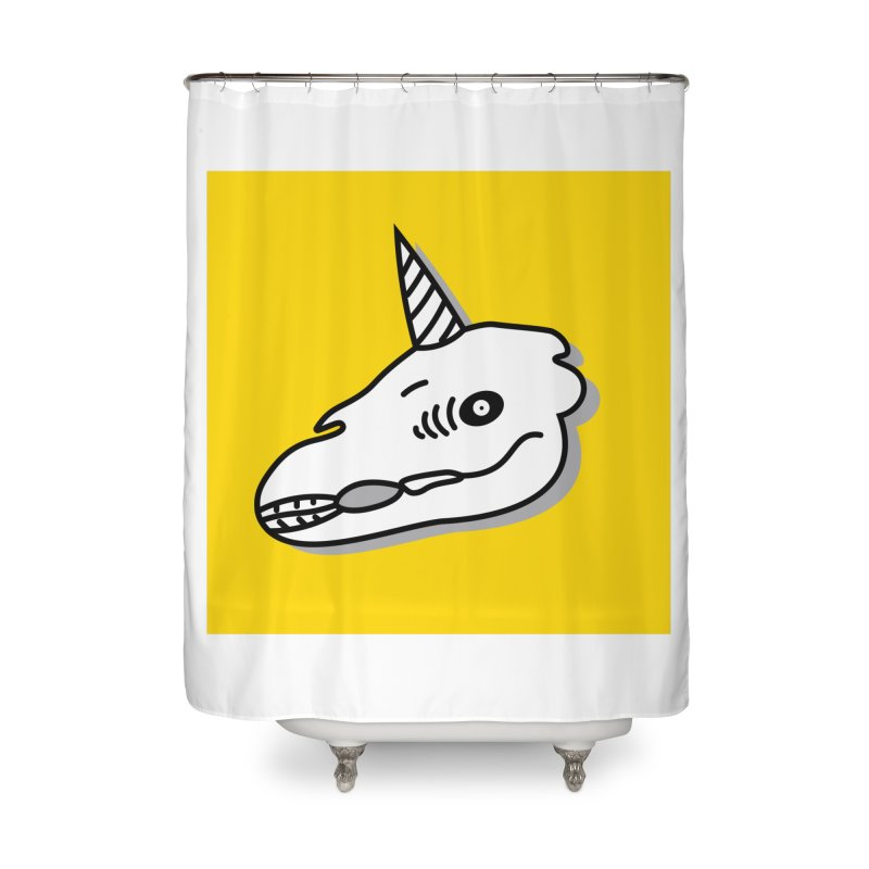 Nordic Horde Home Shower Curtain by FromRiley's Artist Shop