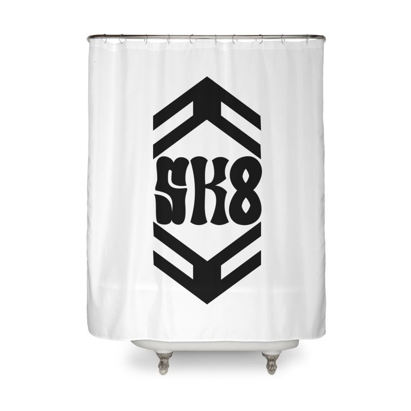 The Skate Hive Home Shower Curtain by FromRiley's Artist Shop