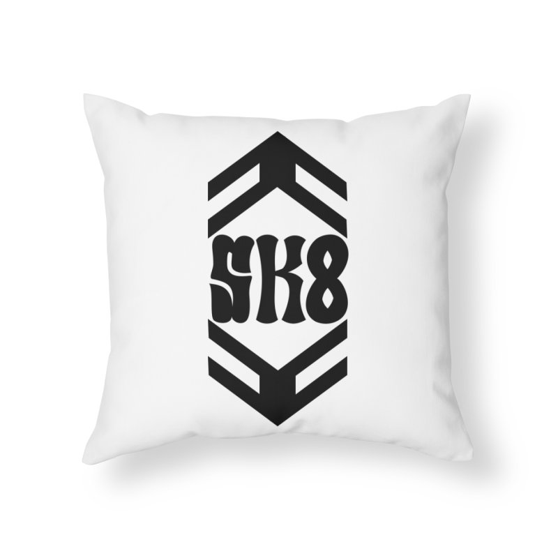 The Skate Hive Home Throw Pillow by FromRiley's Artist Shop