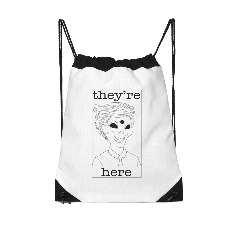 Ellien Degenerate Accessories Bag by FromRiley's Artist Shop