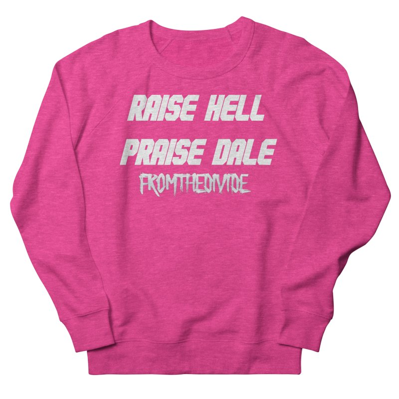 Raise Hell Praise Dale Sweater in Men's French Terry Sweatshirt Heather Heliconia by From The Divide's Artist Shop