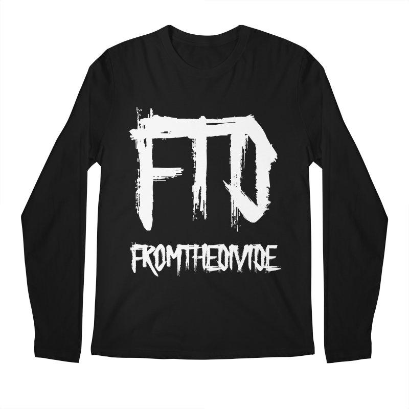 FTD Long T in Men's Regular Longsleeve T-Shirt Black by From The Divide's Artist Shop