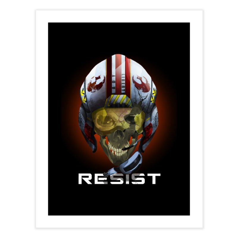 Resist Home Fine Art Print by FunctionalFantasy Artist Shop