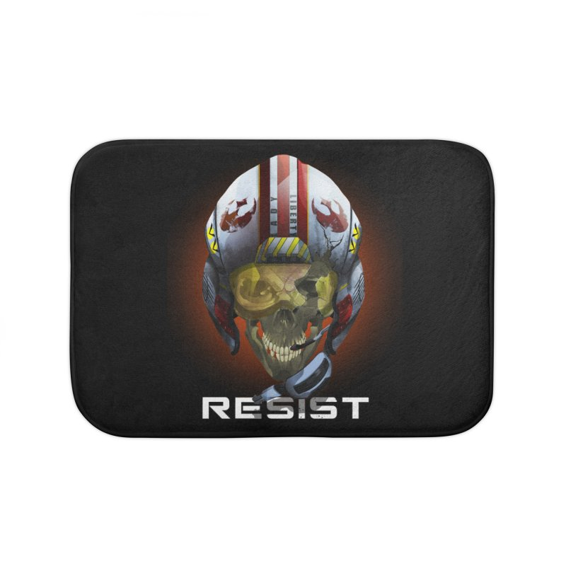 Resist Home Bath Mat by FunctionalFantasy Artist Shop