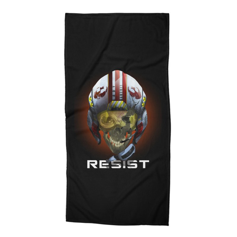 Resist Accessories Beach Towel by FunctionalFantasy Artist Shop