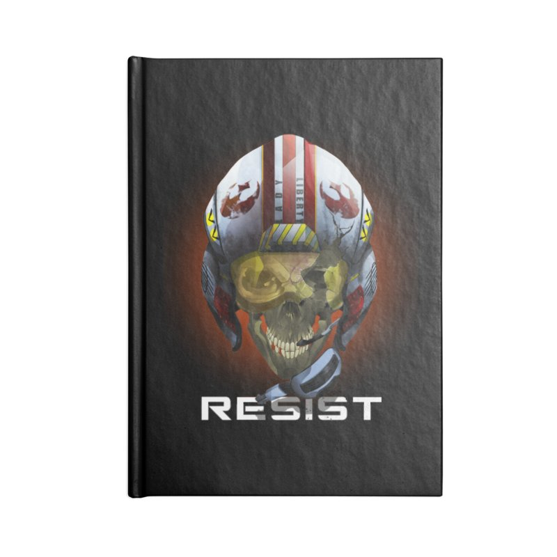 Resist Accessories Lined Journal Notebook by FunctionalFantasy Artist Shop