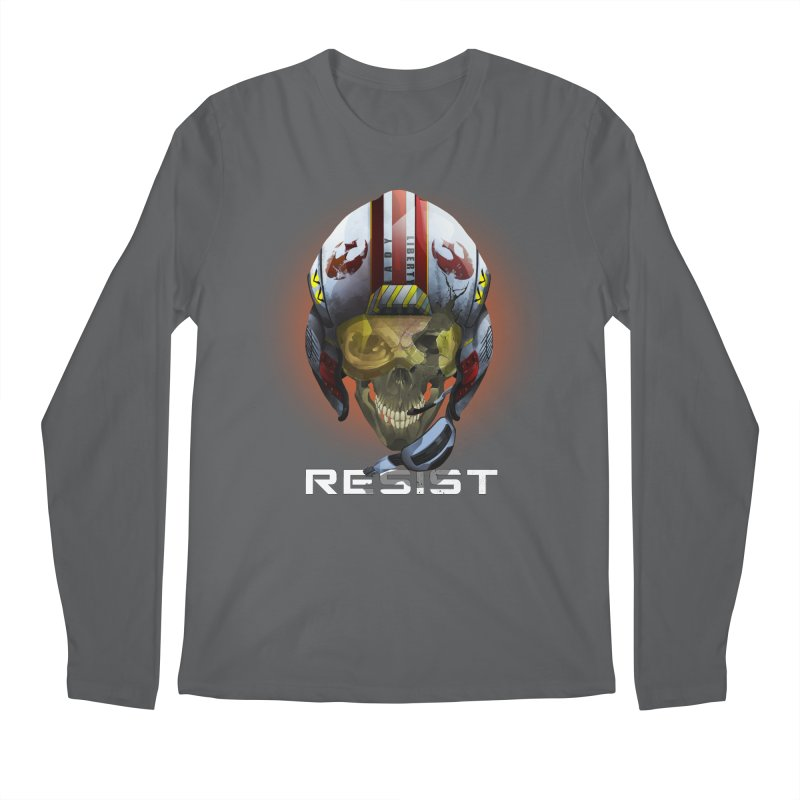 Resist Men's Longsleeve T-Shirt by FunctionalFantasy Artist Shop