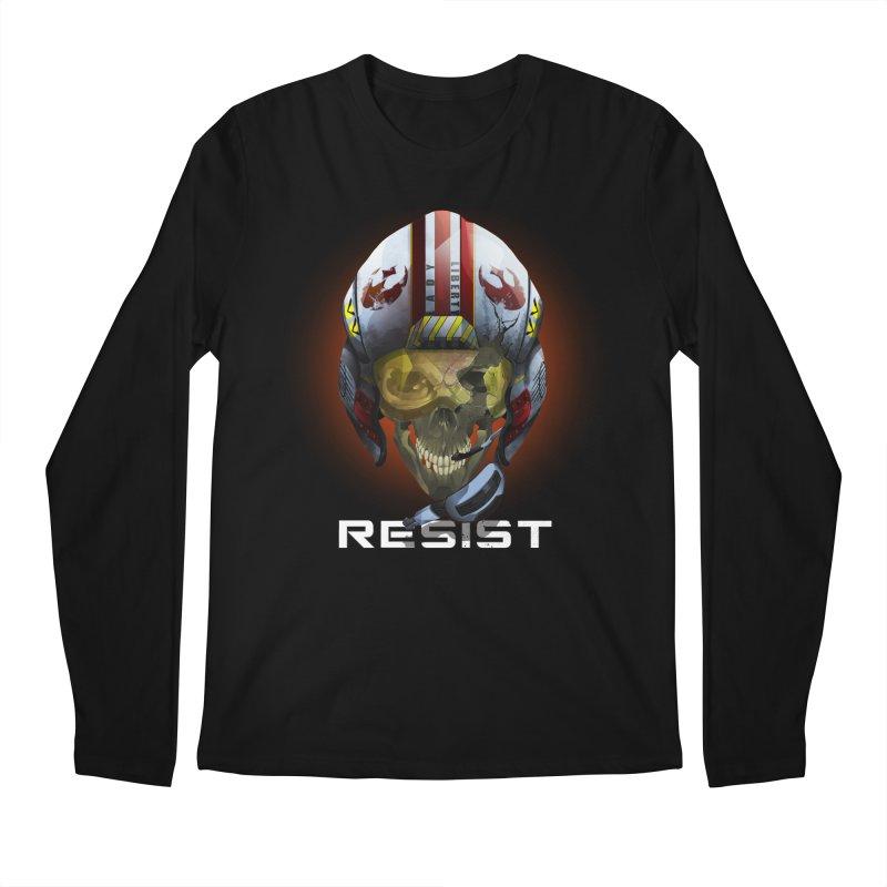 Resist Men's Regular Longsleeve T-Shirt by FunctionalFantasy Artist Shop