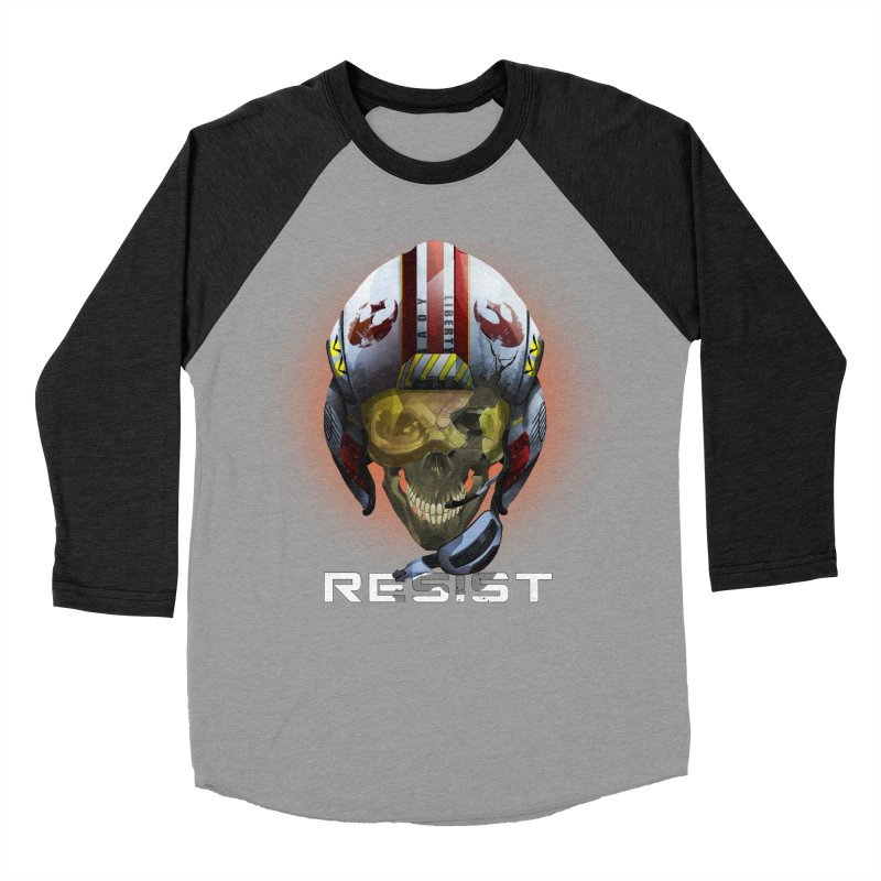 Resist Men's Baseball Triblend Longsleeve T-Shirt by FunctionalFantasy Artist Shop