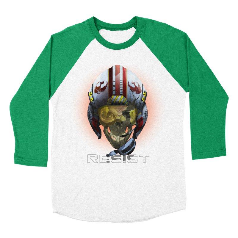 Resist Men's Baseball Triblend Longsleeve T-Shirt by FunctionalFantasy Artist Shop