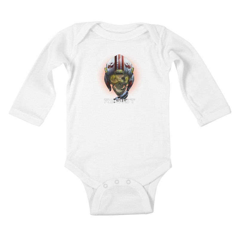 Resist Kids Baby Longsleeve Bodysuit by FunctionalFantasy Artist Shop
