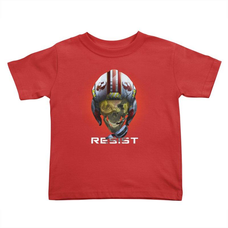 Resist Kids Toddler T-Shirt by FunctionalFantasy Artist Shop