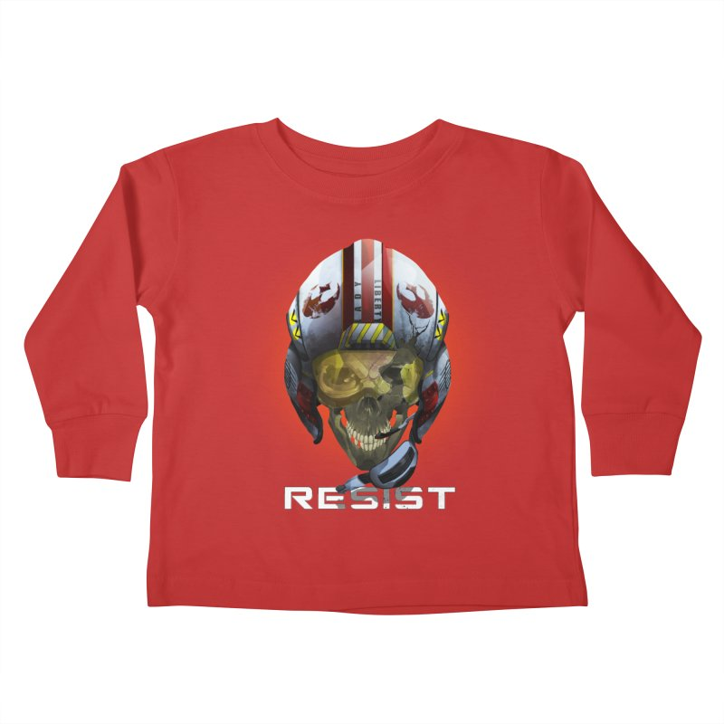Resist Kids Toddler Longsleeve T-Shirt by FunctionalFantasy Artist Shop