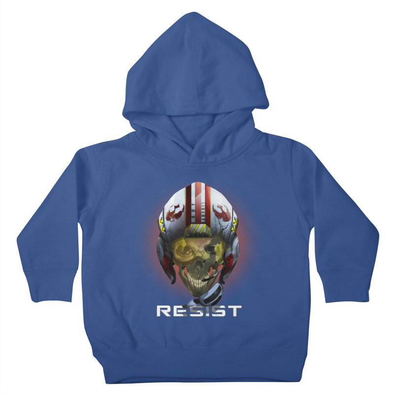 Resist Kids Toddler Pullover Hoody by FunctionalFantasy Artist Shop
