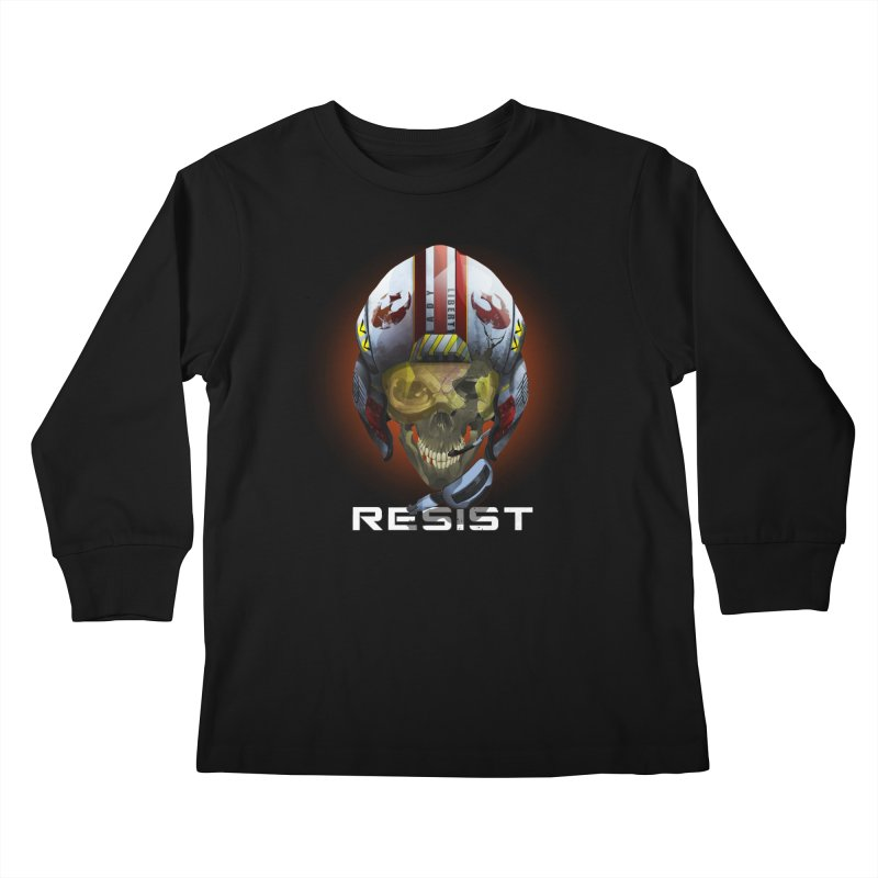 Resist Kids Longsleeve T-Shirt by FunctionalFantasy Artist Shop