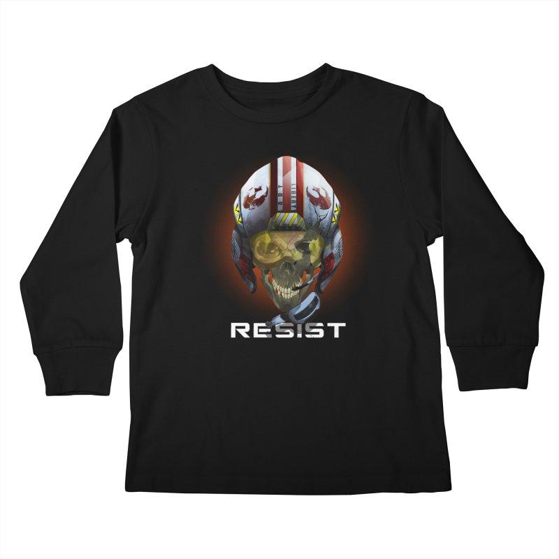 Resist Kids Longsleeve T-Shirt by FunctionalFantasy Artist Shop