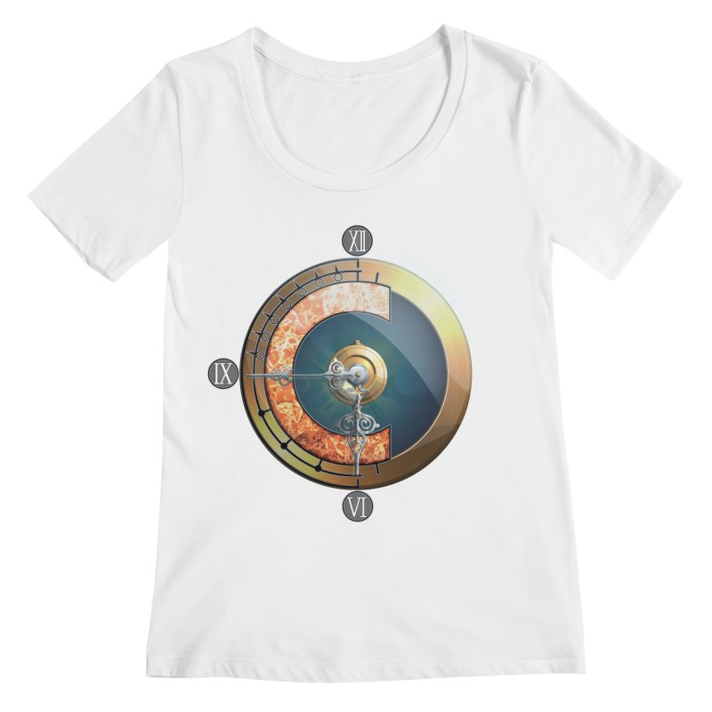 Chrono Trigger Women's Regular Scoop Neck by FunctionalFantasy Artist Shop