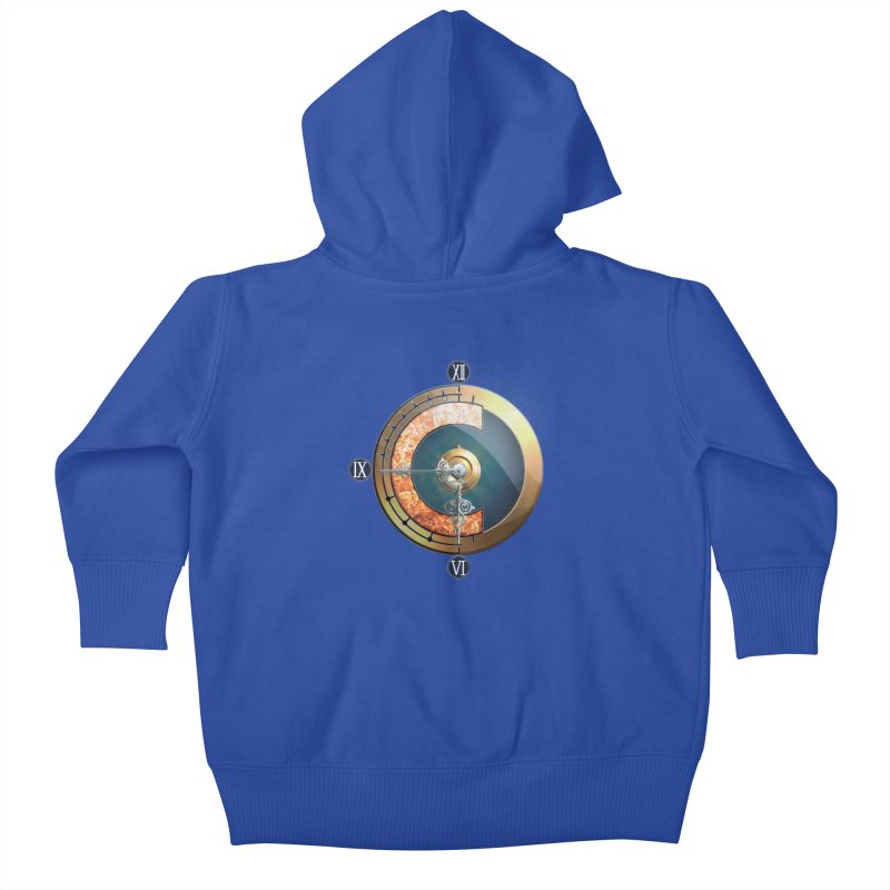 Chrono Trigger Kids Baby Zip-Up Hoody by FunctionalFantasy Artist Shop