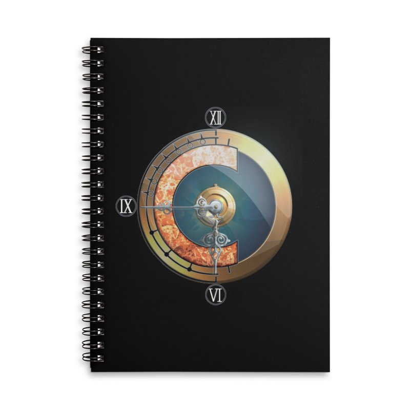 Chrono Trigger Accessories Lined Spiral Notebook by FunctionalFantasy Artist Shop