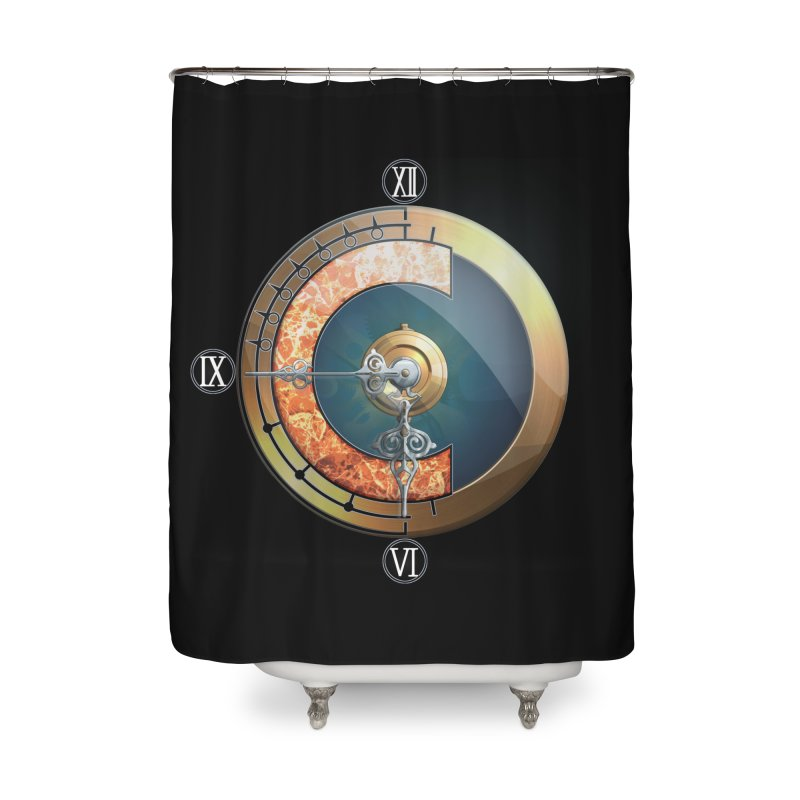 Chrono Trigger Home Shower Curtain by FunctionalFantasy Artist Shop