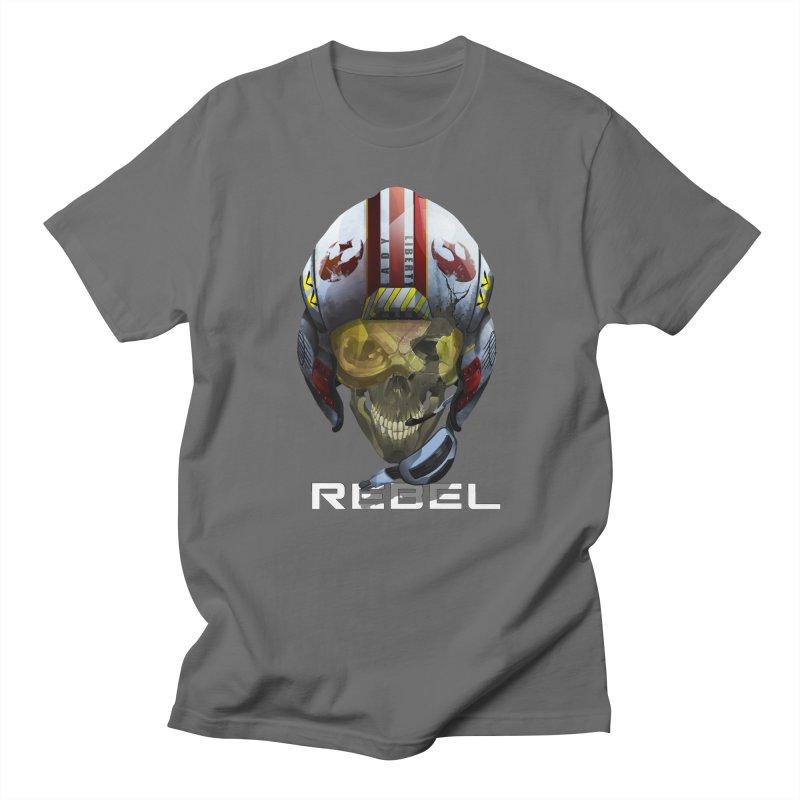REBEL Men's T-Shirt by FunctionalFantasy Artist Shop