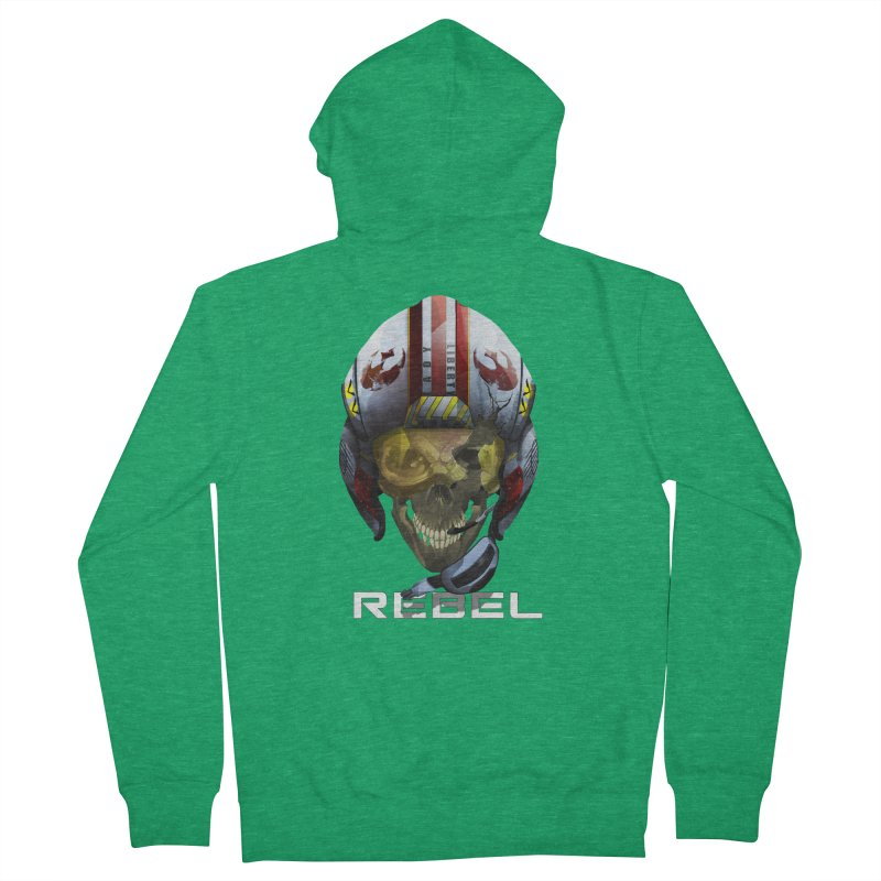 REBEL Women's Zip-Up Hoody by FunctionalFantasy Artist Shop