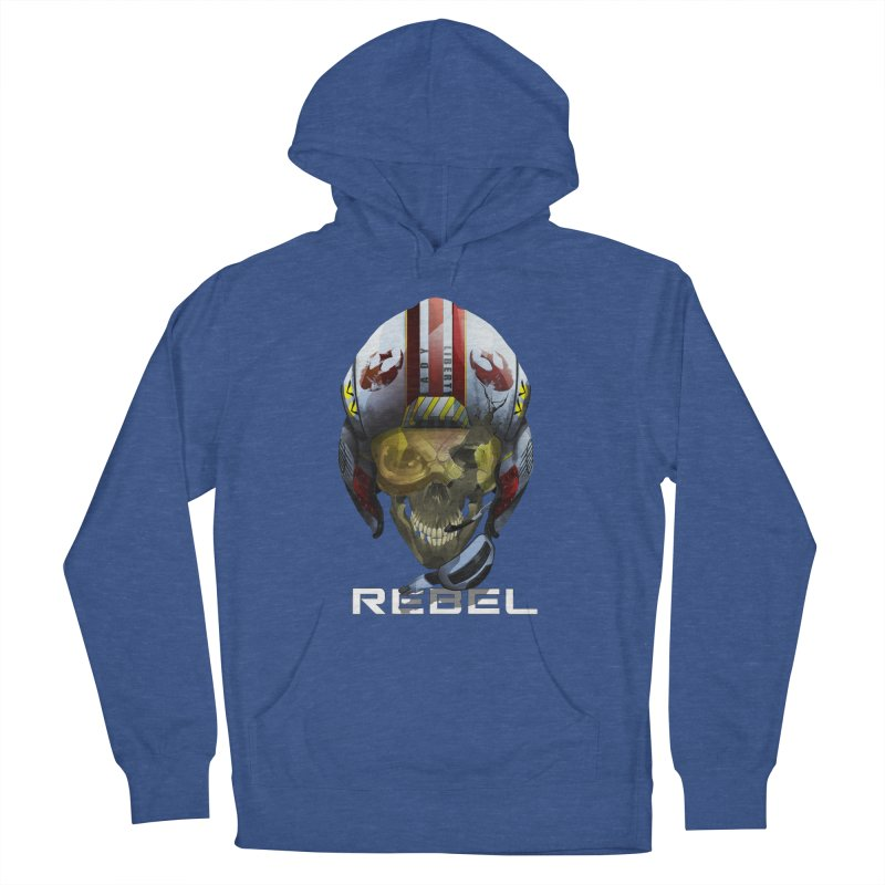 REBEL Women's French Terry Pullover Hoody by FunctionalFantasy Artist Shop