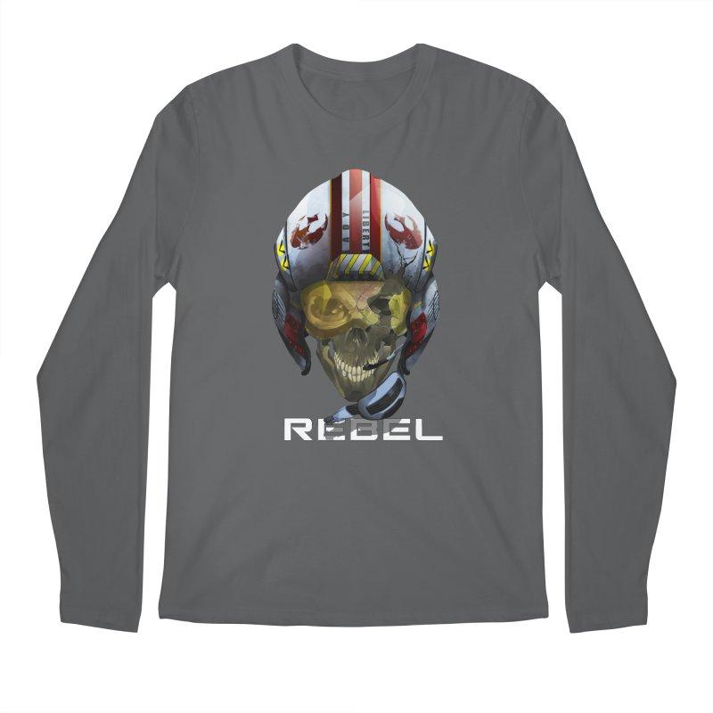 REBEL Men's Regular Longsleeve T-Shirt by FunctionalFantasy Artist Shop