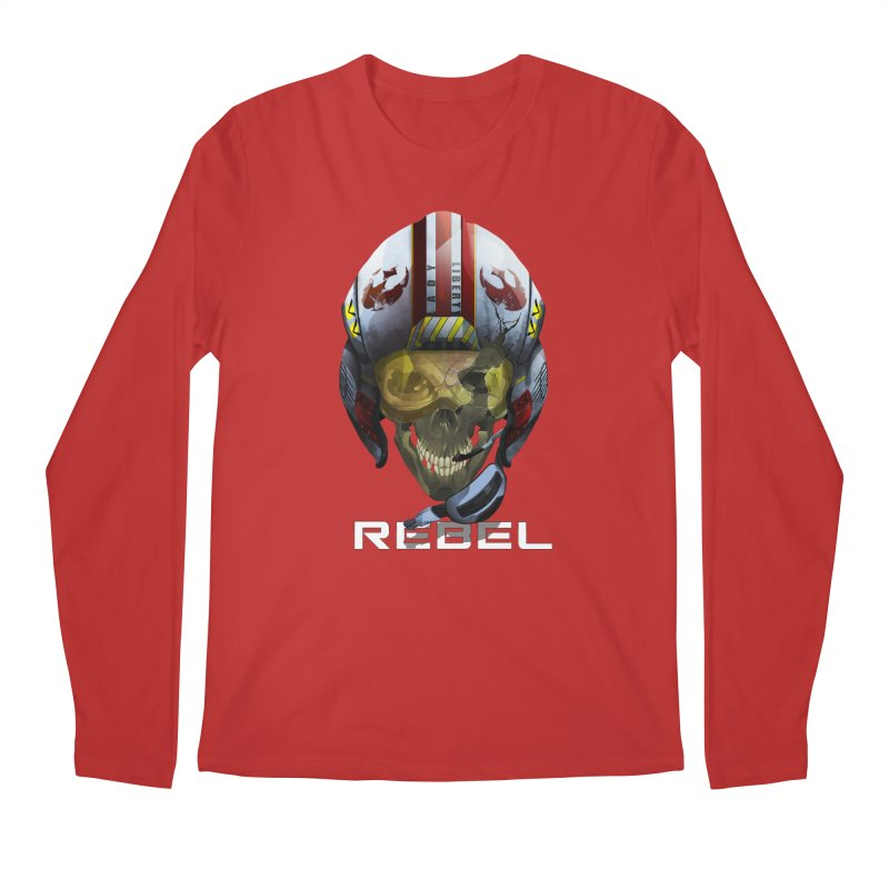 REBEL Men's Longsleeve T-Shirt by FunctionalFantasy Artist Shop
