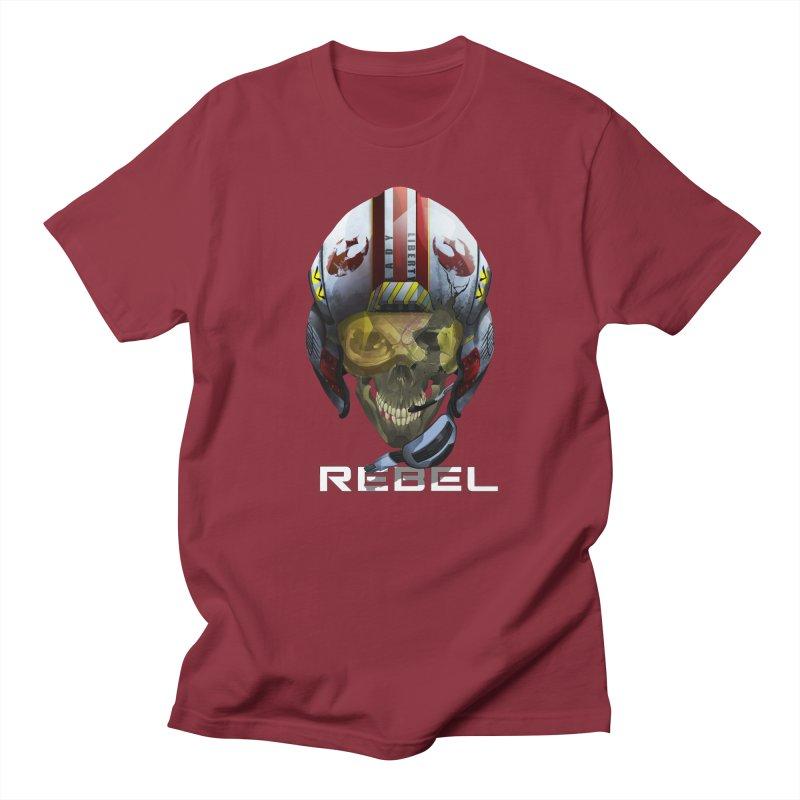 REBEL Women's Regular Unisex T-Shirt by FunctionalFantasy Artist Shop