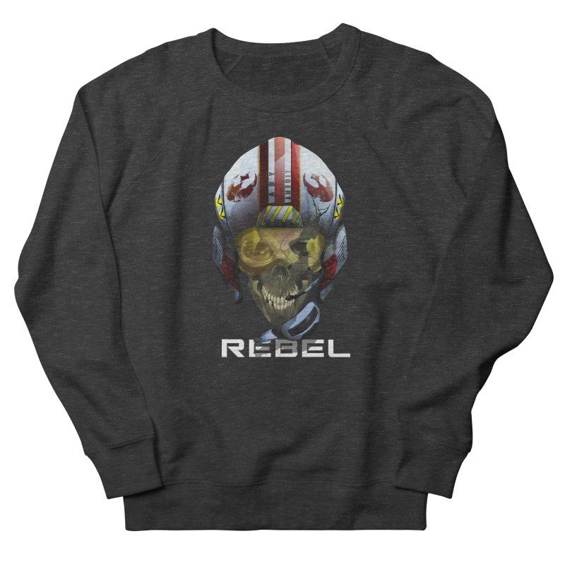 REBEL Women's French Terry Sweatshirt by FunctionalFantasy Artist Shop
