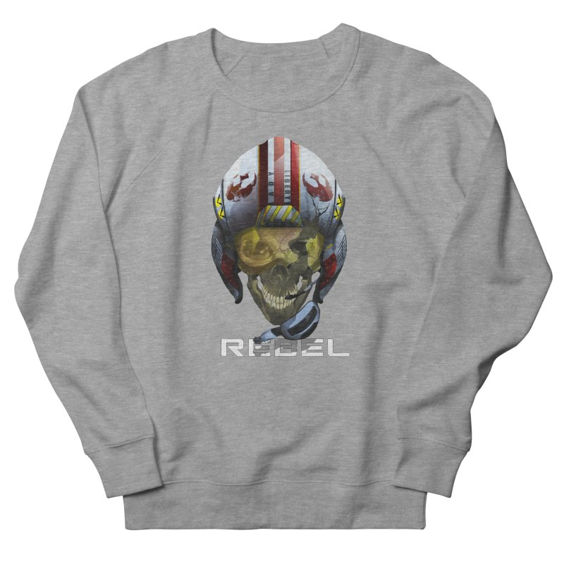 REBEL Women's French Terry Sweatshirt by FunctionalFantasy Artist Shop