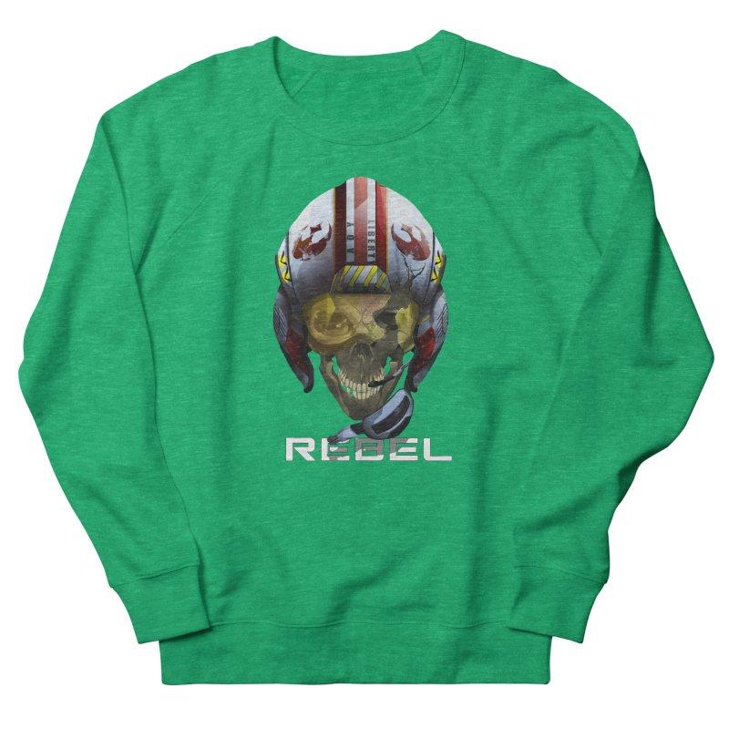 REBEL Men's French Terry Sweatshirt by FunctionalFantasy Artist Shop