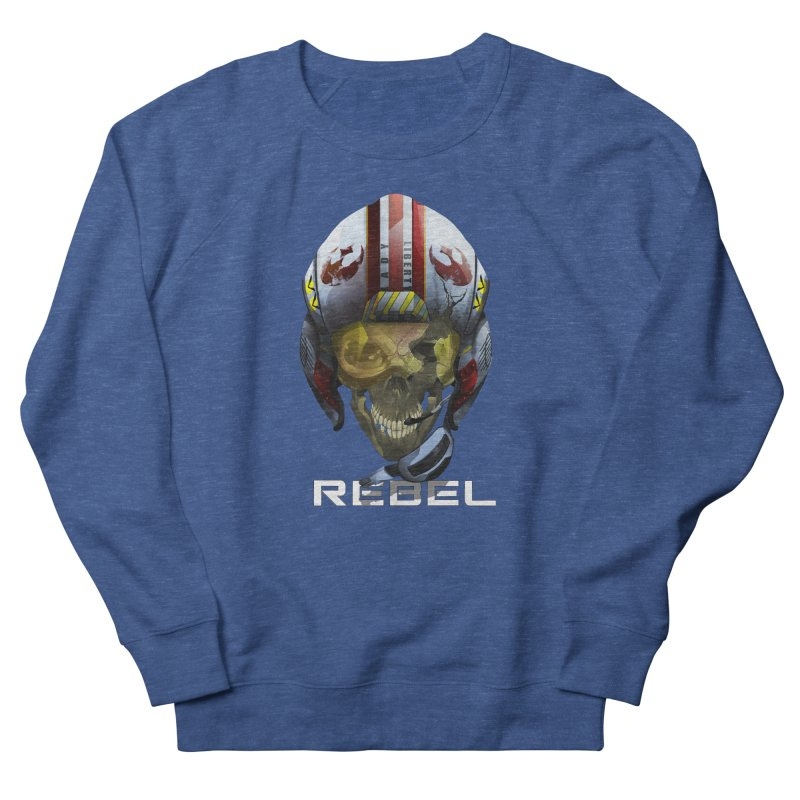 REBEL Men's French Terry Sweatshirt by FunctionalFantasy Artist Shop