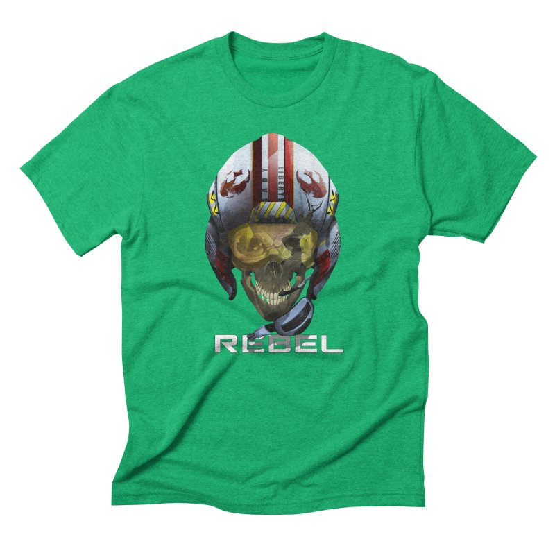REBEL Men's Triblend T-Shirt by FunctionalFantasy Artist Shop