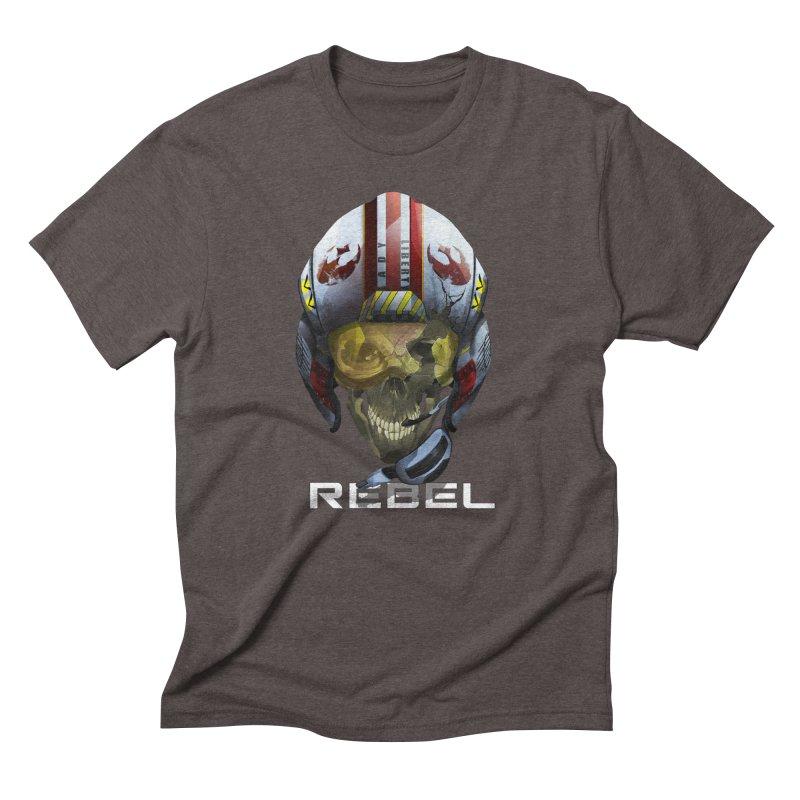 REBEL Men's Triblend T-Shirt by FunctionalFantasy Artist Shop