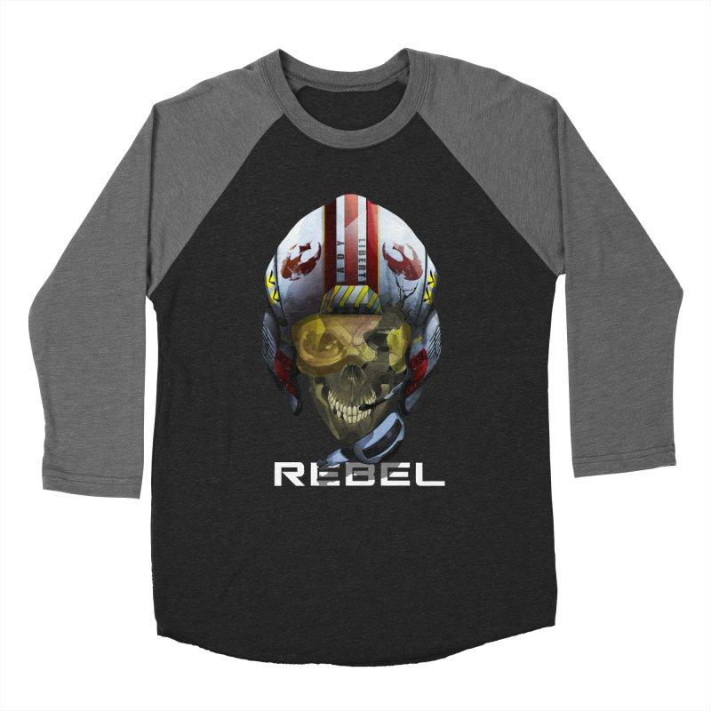REBEL Men's Baseball Triblend Longsleeve T-Shirt by FunctionalFantasy Artist Shop