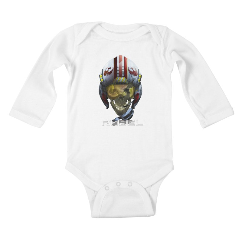 REBEL Kids Baby Longsleeve Bodysuit by FunctionalFantasy Artist Shop