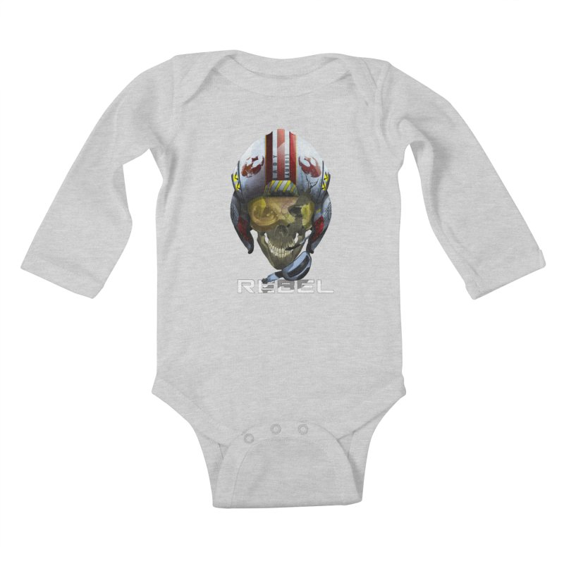 REBEL Kids Baby Longsleeve Bodysuit by FunctionalFantasy Artist Shop