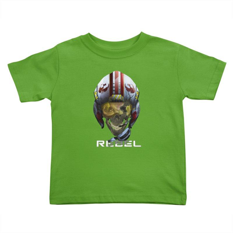 REBEL Kids Toddler T-Shirt by FunctionalFantasy Artist Shop