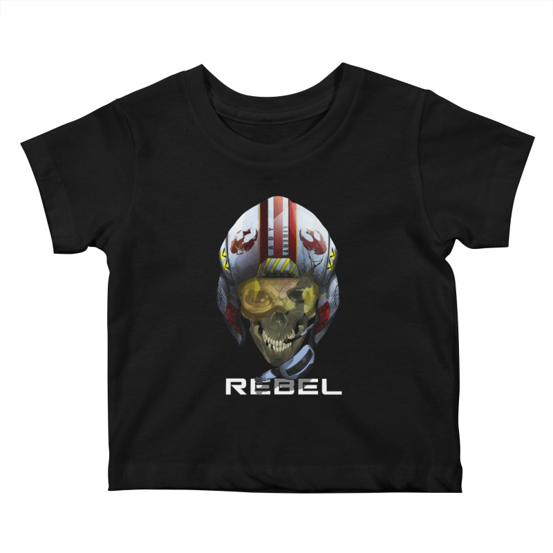 REBEL Kids Baby T-Shirt by FunctionalFantasy Artist Shop