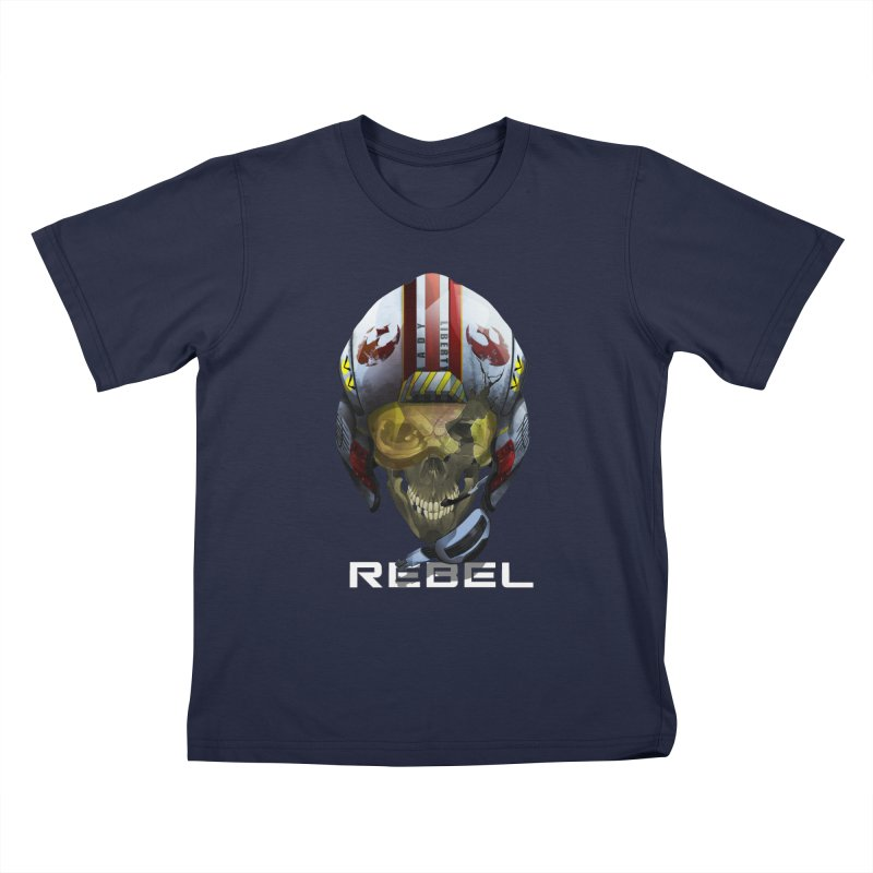 REBEL Kids T-Shirt by FunctionalFantasy Artist Shop