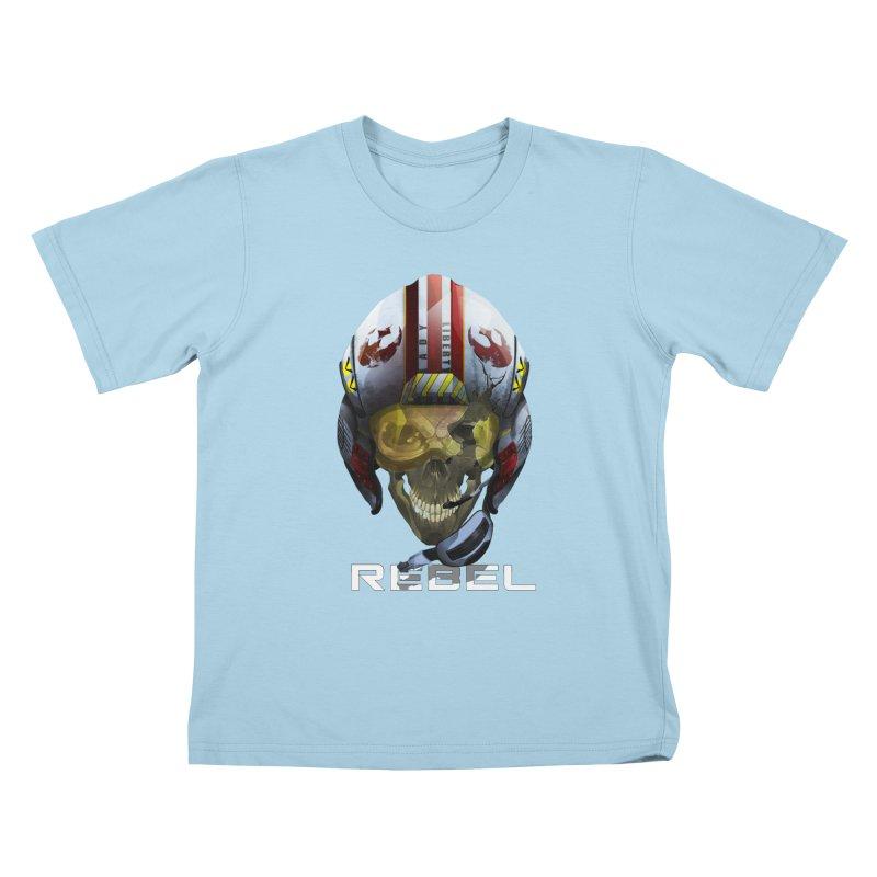 REBEL Kids T-Shirt by FunctionalFantasy Artist Shop