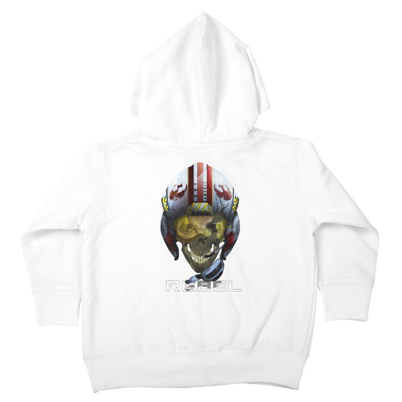 REBEL Kids Toddler Zip-Up Hoody by FunctionalFantasy Artist Shop
