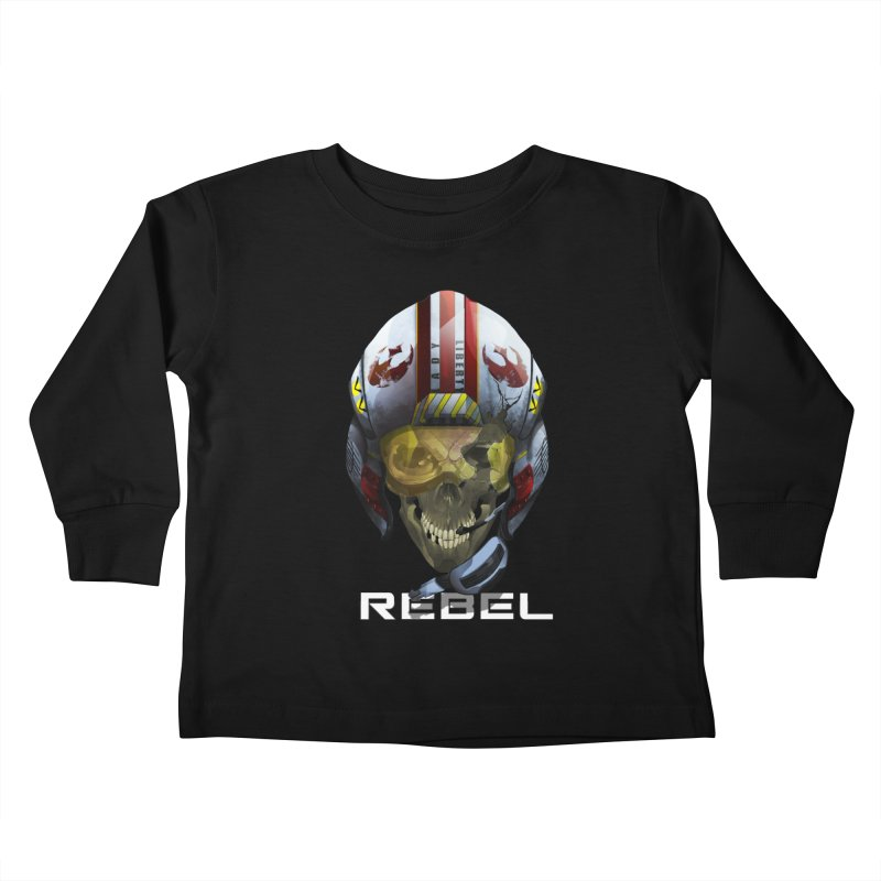 REBEL Kids Toddler Longsleeve T-Shirt by FunctionalFantasy Artist Shop