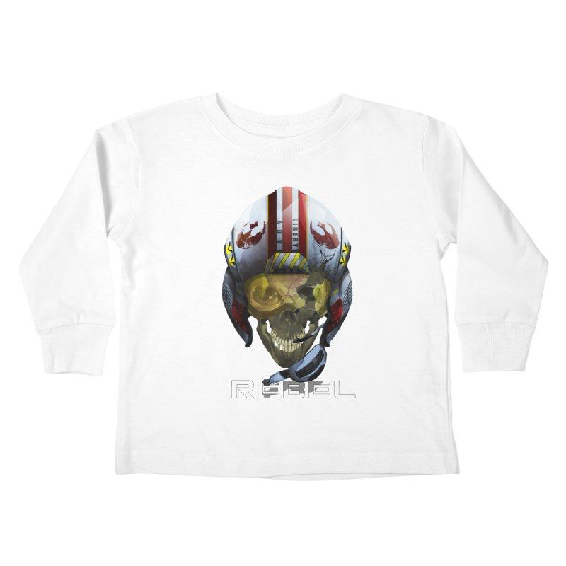 REBEL Kids Toddler Longsleeve T-Shirt by FunctionalFantasy Artist Shop