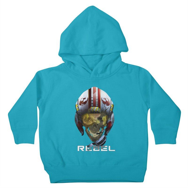 REBEL Kids Toddler Pullover Hoody by FunctionalFantasy Artist Shop