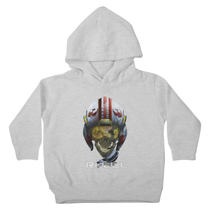 REBEL Kids Toddler Pullover Hoody by FunctionalFantasy Artist Shop