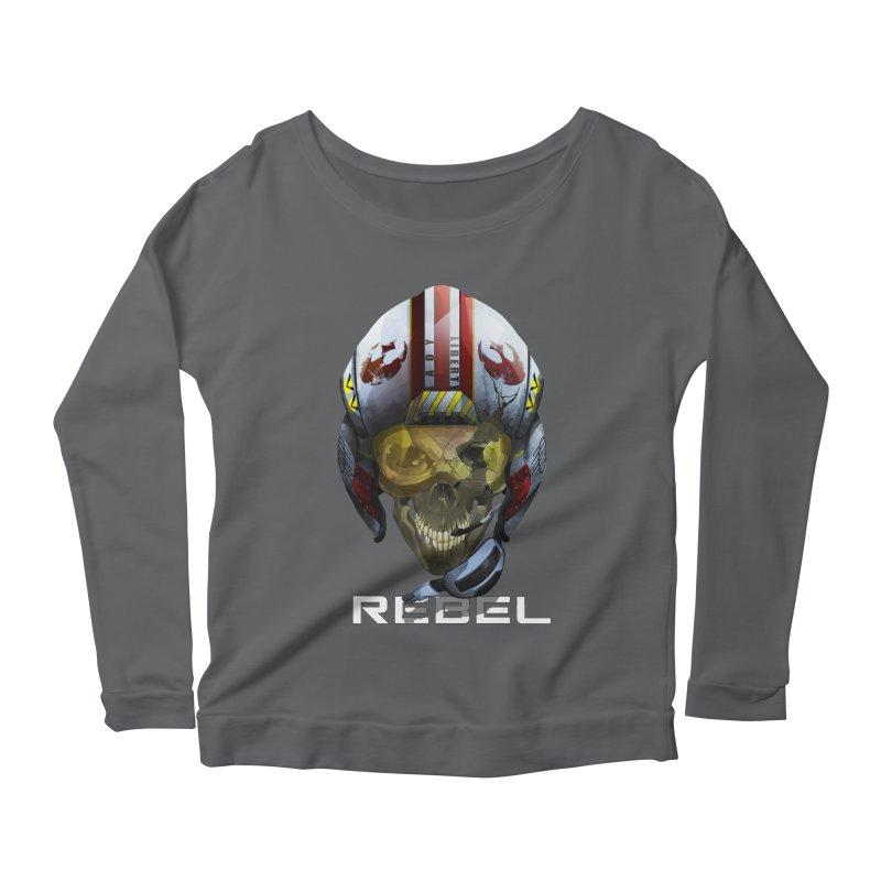 REBEL Women's Longsleeve T-Shirt by FunctionalFantasy Artist Shop