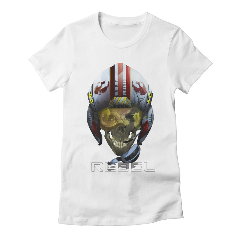 REBEL Women's Fitted T-Shirt by FunctionalFantasy Artist Shop